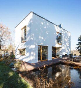 Terasse Einfamilienhaus Merseburg, Architekturbüro SIGMA PLAN WEIMAR GmbH