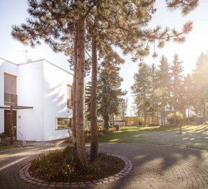 Einfamilienhaus am Hang, mit Vorplatz, Balkon, Terasse, See, Merseburg, Architekturbüro SIGMA PLAN WEIMAR GmbH