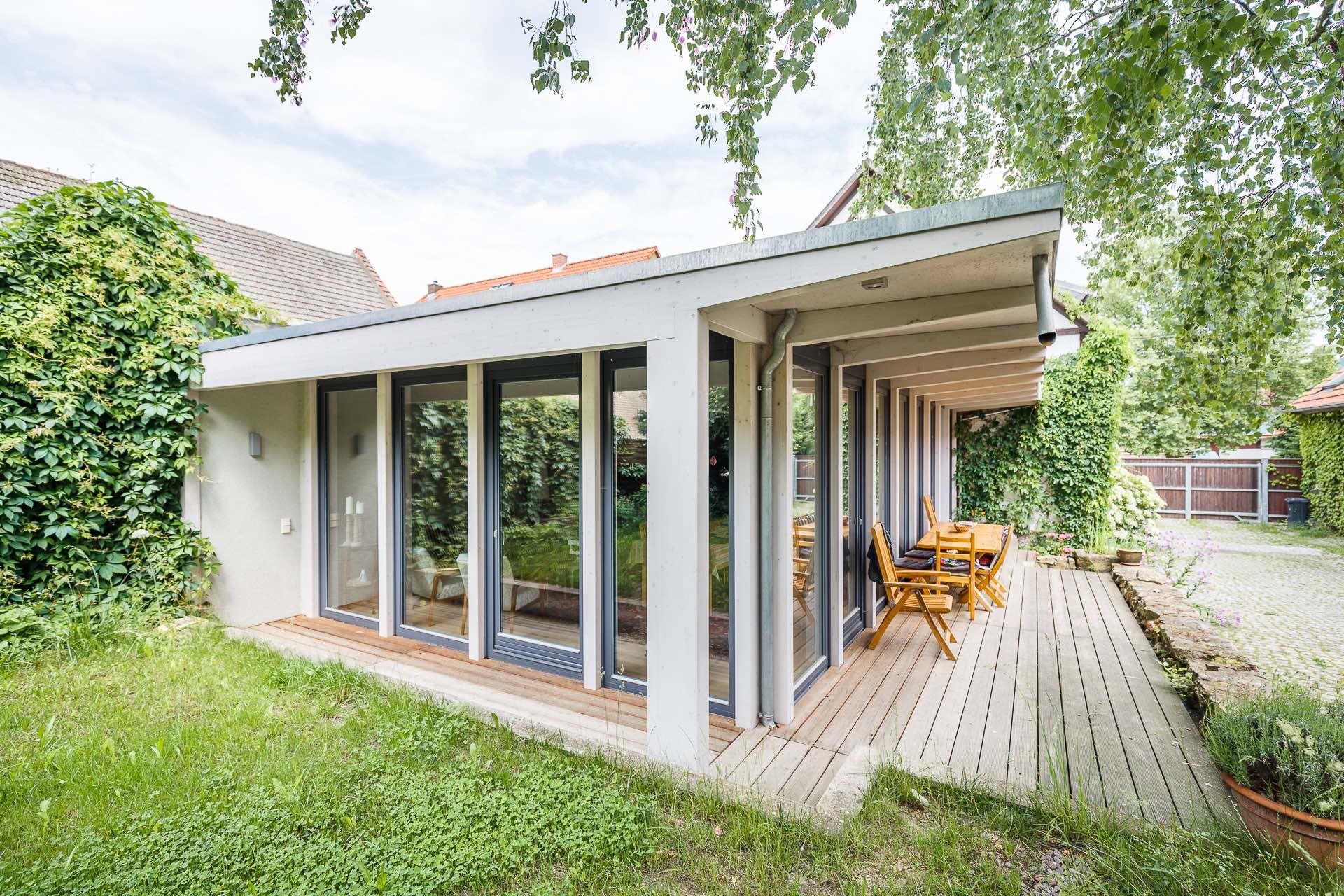 Einfamilienhaus, Terasse, Freianlagen, Architekturbüro, SIGMA PLAN WEIMAR ® GmbH,