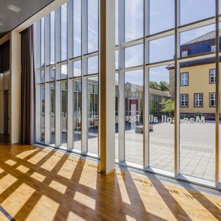 Generalplaner, Architekturbüro, Architekturleistung, Ingenieursleistung, Gesellschaftsbau, Saal, Außenanlagen, Interior