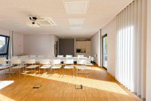 Architekturleistung, Ingenieursleistung, Gesellschaftsbau, Konferenzraum