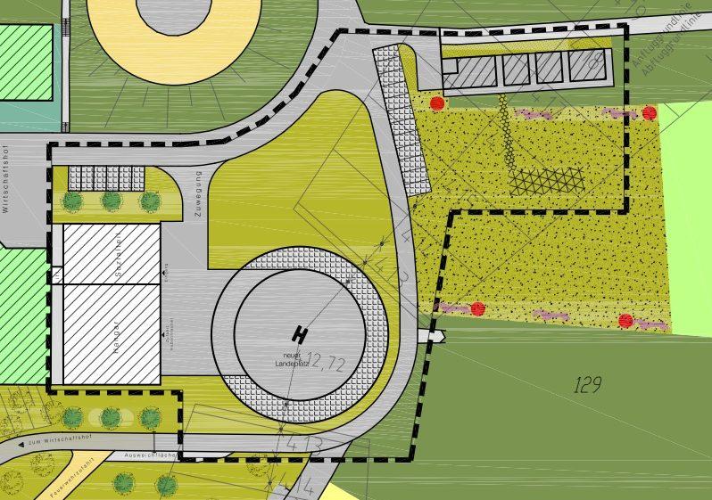 Landscape maintenance plan