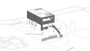 Einfamilienhaus mit Geschäftsräumen