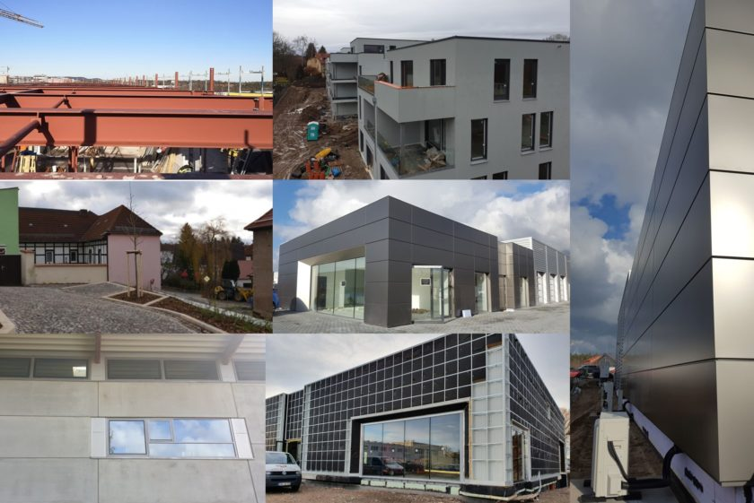 Aktuelle Projektinformationen von unseren Baustellen