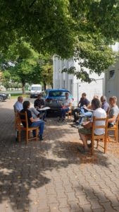 Projektbesprechung Sigma Plan Weimar GmbH und Landestheater Rudolstadt